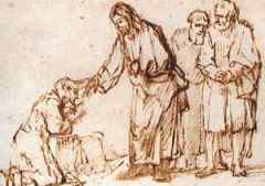 Jesus Heals Rembrandt
